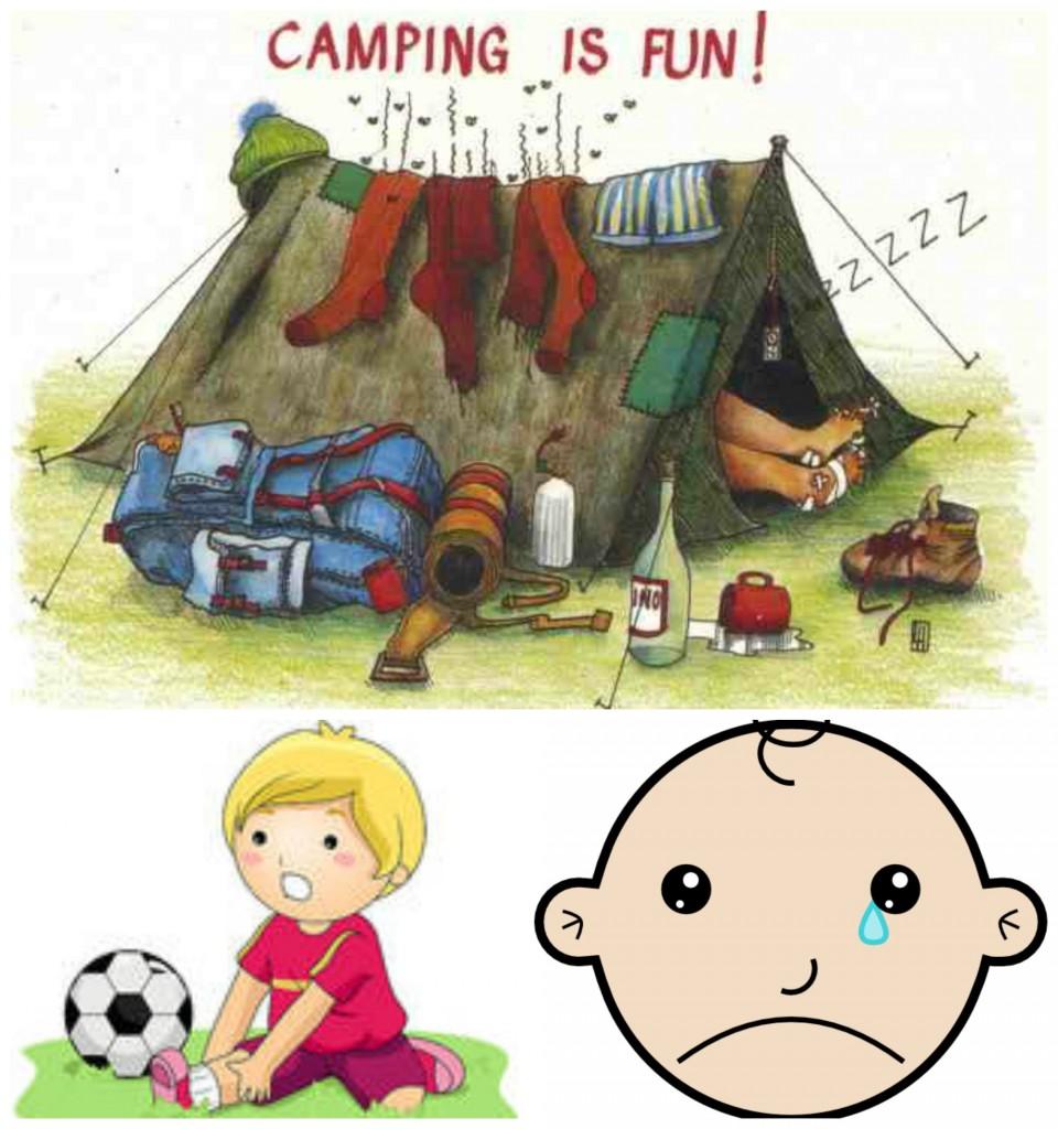 Camping and Minor Injuries