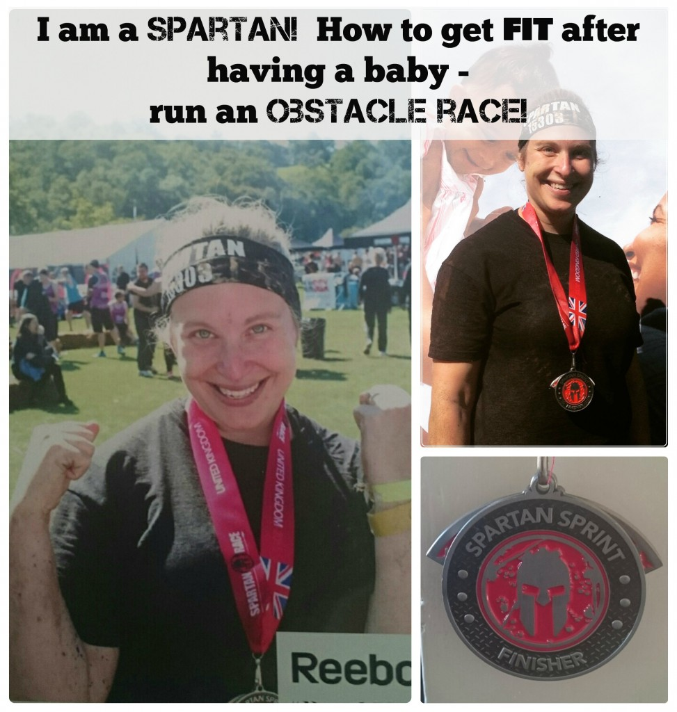 I am a Spartan! How to get fit after having a baby – run an obstacle race!