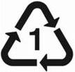 Plastic symbol 1