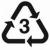 Plastic symbol 3