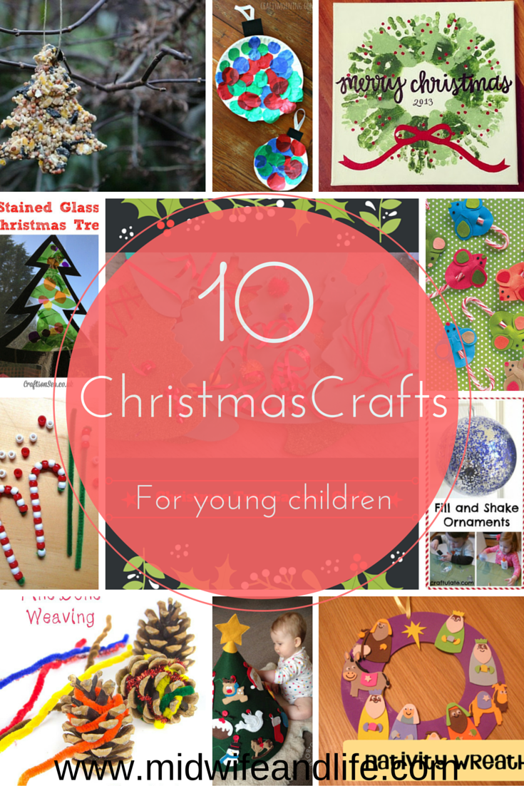 10 unique and different christmas crafts to do with young for Christmas crafts for young children