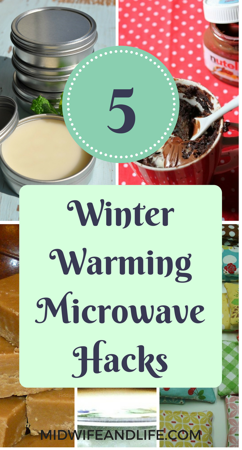 The five best winter warming microwave hacks - read how to make this winter easier with a little help from your microwave!