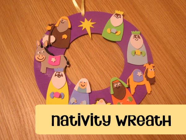 christmas-craft-nativity-wreath