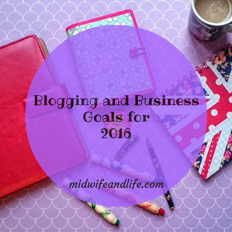 Blogging and Business Goals 2016