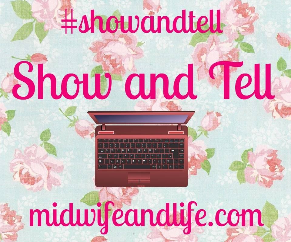 show and tell blog link