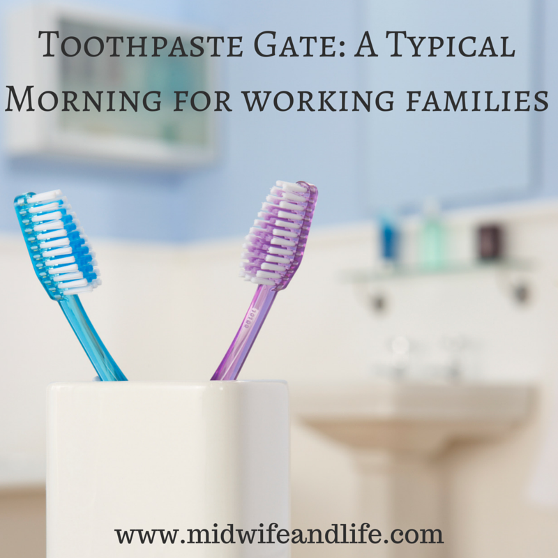 working families morning routine