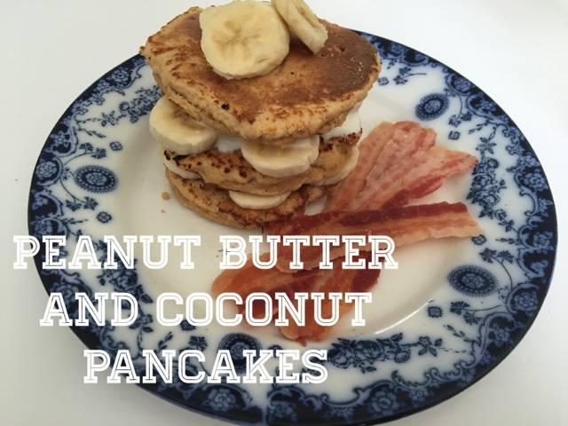 peanut butter-coconut-pancakes-recipe
