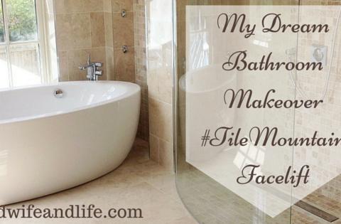 My bathroom needs a makeover! #TileMountainFacelift