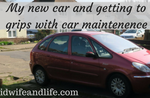 Getting to grips with car maintenence