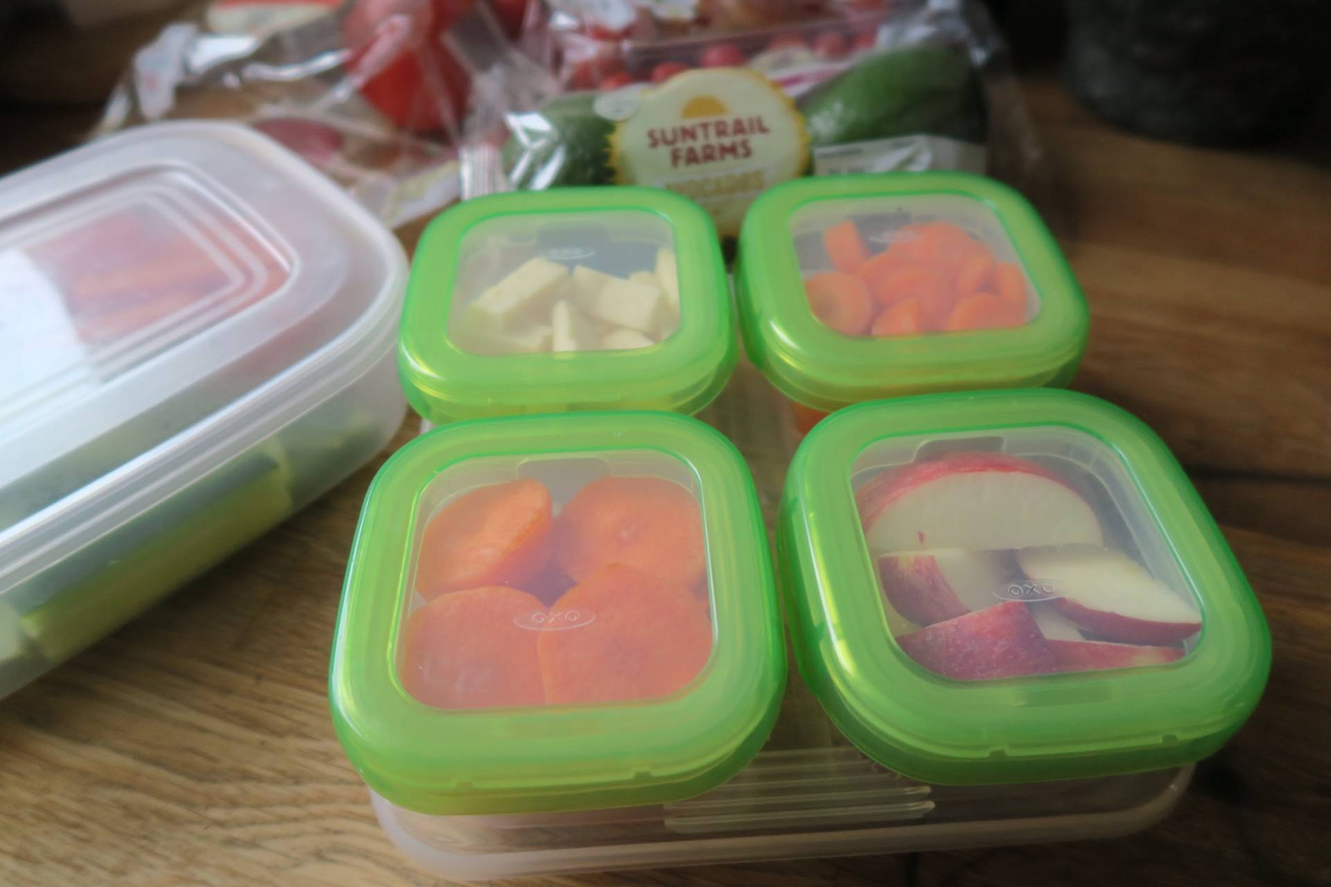 A Beginners guide to meal and snack prep for families. You don't have to do vast amounts of prep to make a big difference to stress levels.