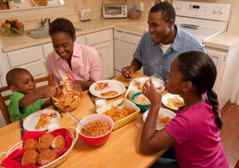 Read my top tips on reducing the stress at family mealtimes
