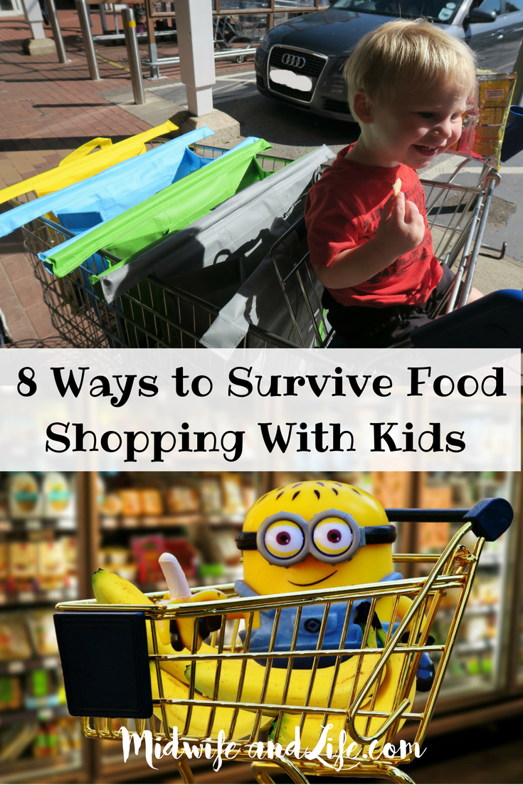 8 Ways to Survive food shopping with Kids and Trolley Bags review