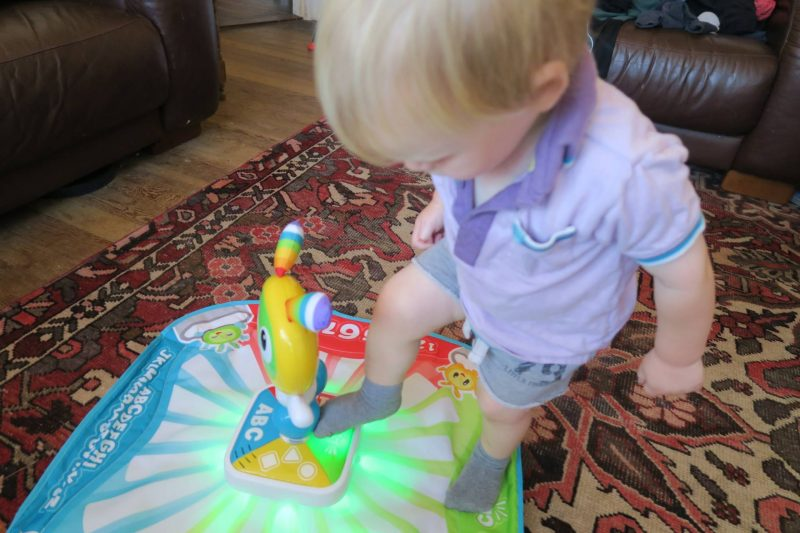 Watch our crazy unboxing video and read the review. Plus win your own bright beats learnin' lights dance mat for your little groover!