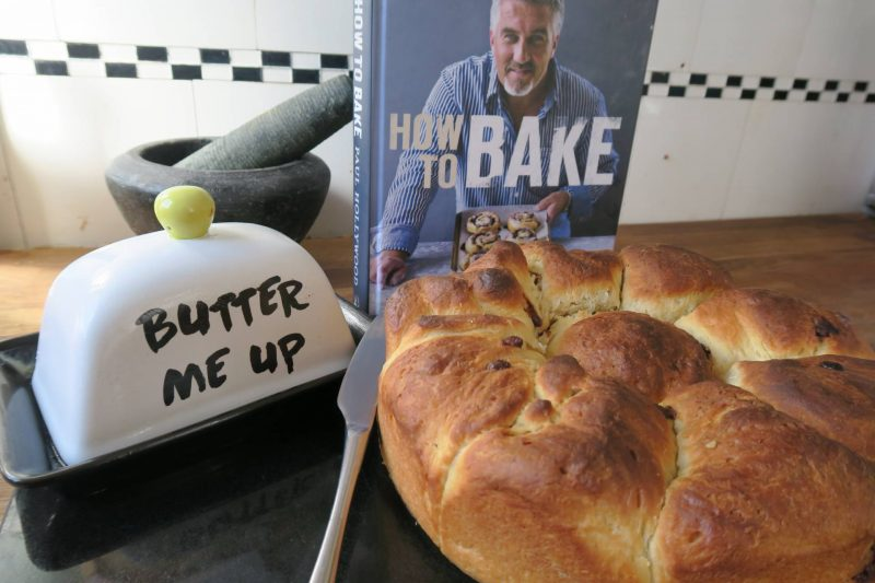 Simple, easy to follow recipe to make chocolate chip brioche, in honour of bread week from the Great British Bake Off
