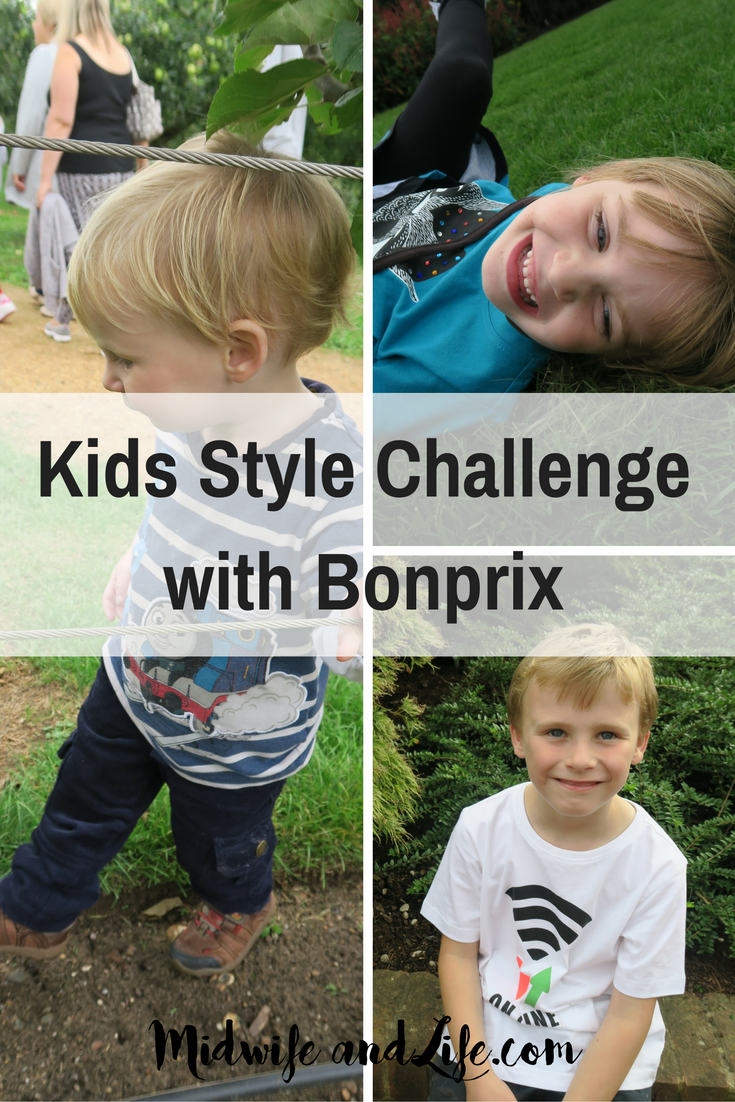 Can you clothe three children for £50? We took the Bonprix style challenge to find out! Gorgeous autumn fall styles and kids clothes that wear and wash well - check out the details!