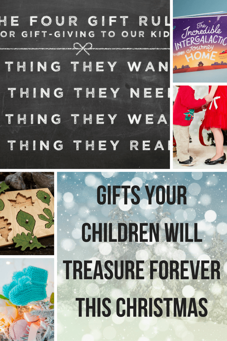 Gift ideas for children that they will treasure forever