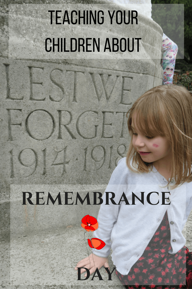 Teaching the children about Remembrance Day