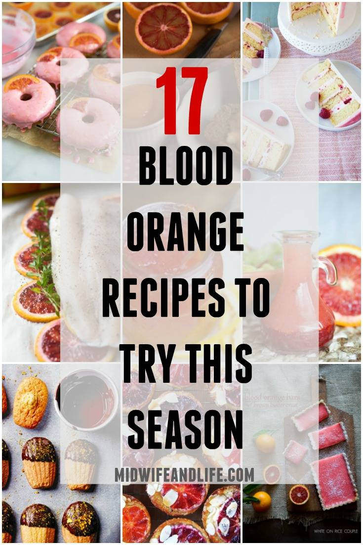 Recipes and Inspiration for the Blood Orange. #bloodorange #recipes