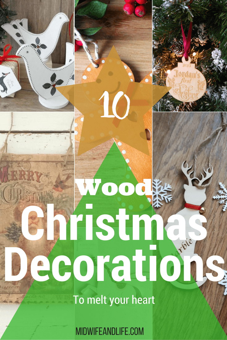 These gorgeous statement wooden decorations are elegant and timeless for a beautiful traditional Christmas. A lot are handmade in the UK