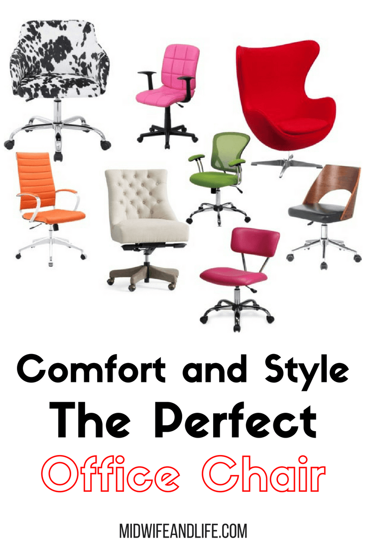 Comfort and Style, the perfect Office Chair wish list