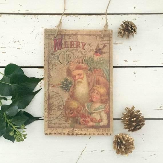 santa-vintage-wooden-christmas-sign