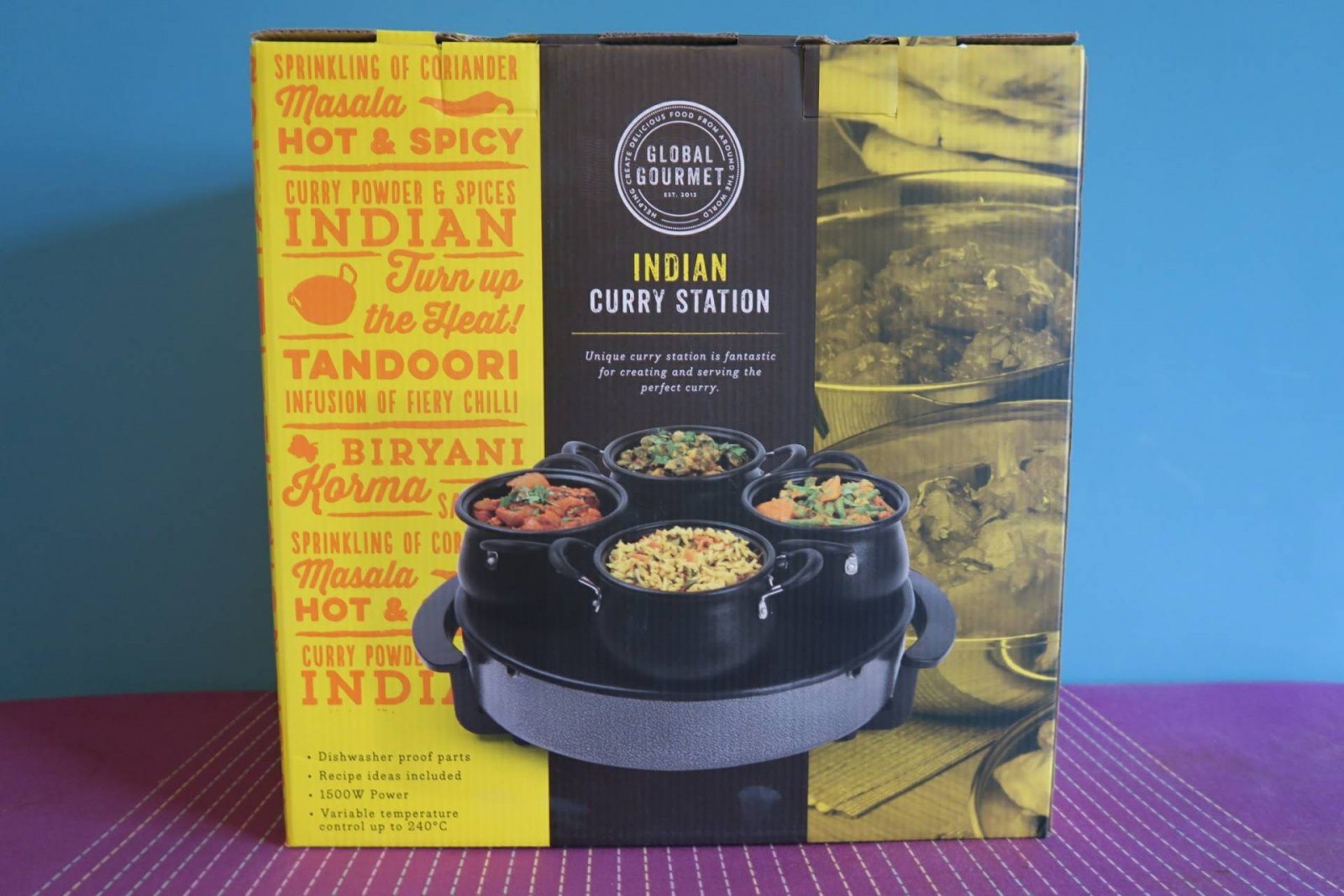 Indian Curry Station Review and Giveaway