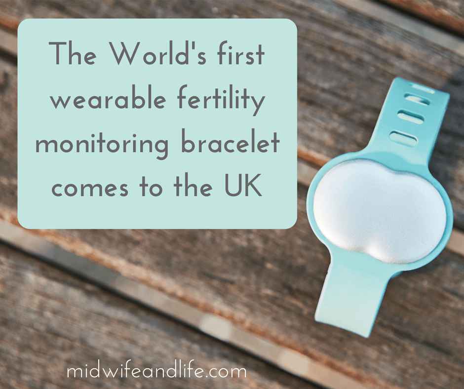 The World's first wearable fertility monitoring bracelet comes to the UK