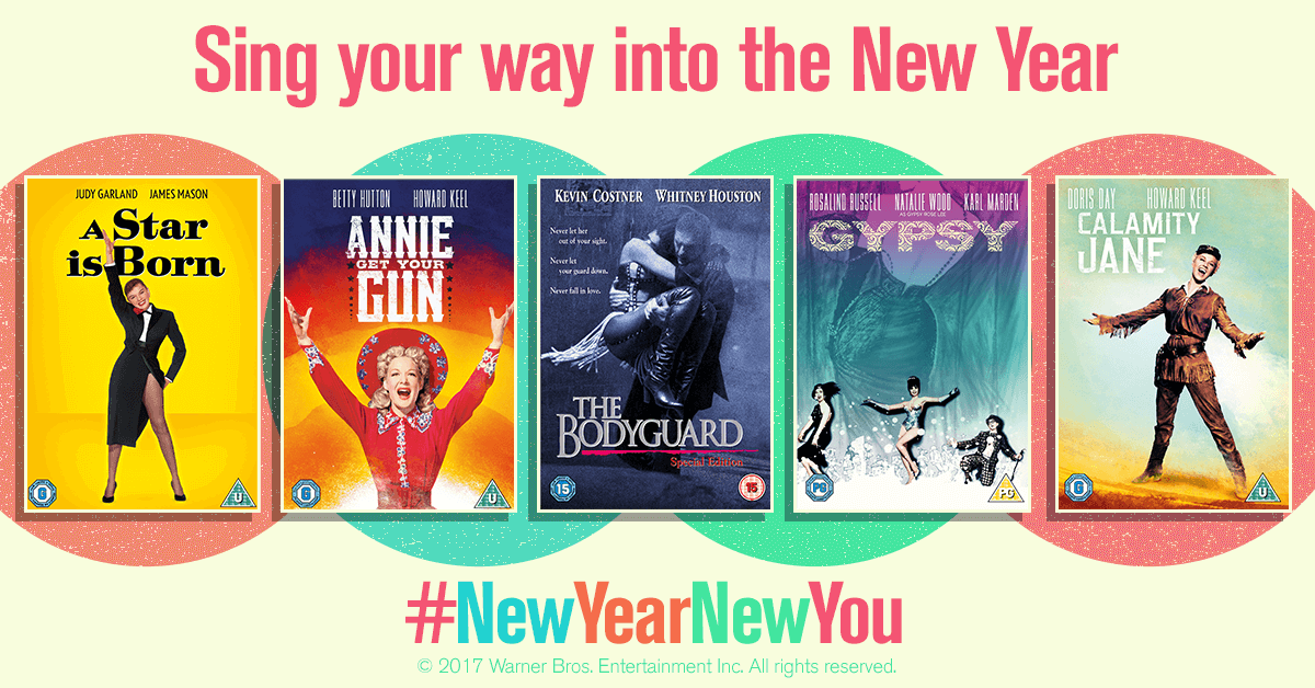 New Year New You Musicals DVD Giveaway