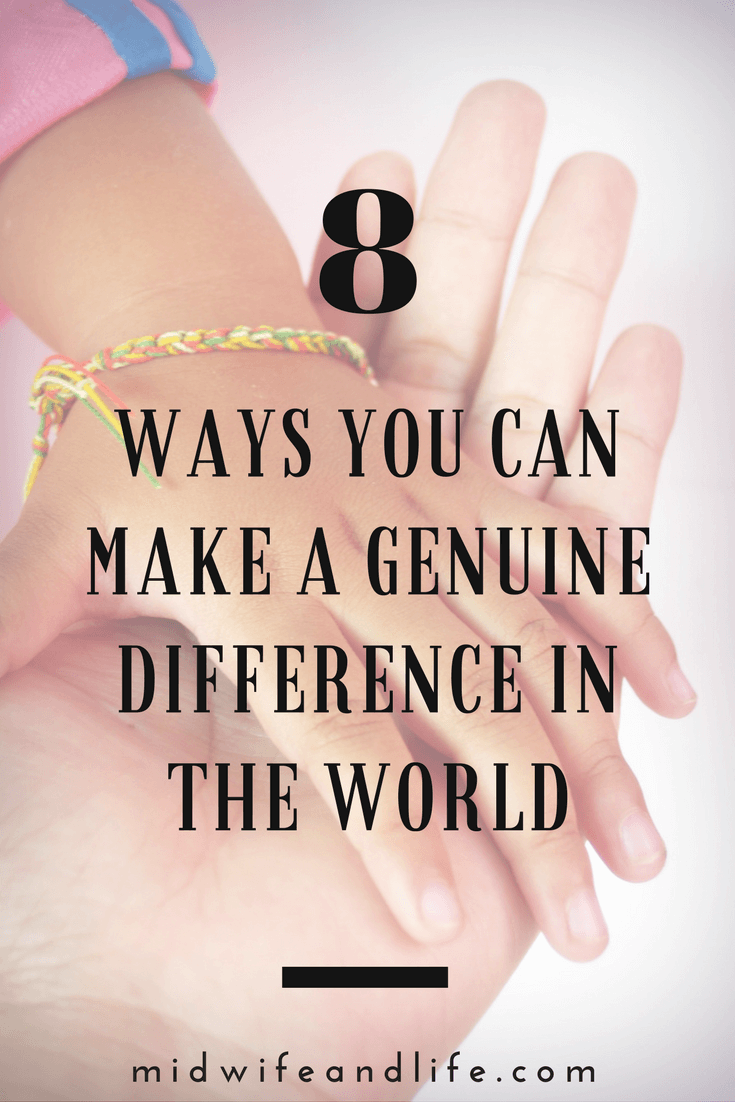 It's easy to feel overwhelmed and helpless about events beyond our control but here are some simple ways to make a genuine difference