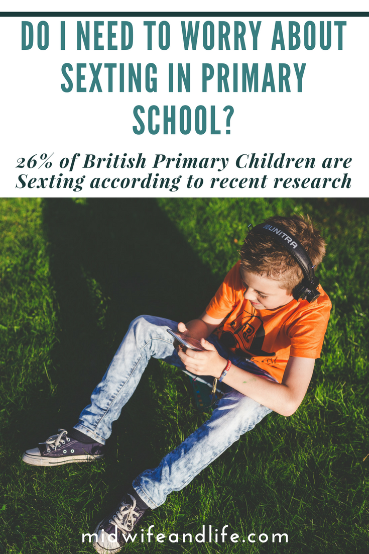 Do I Need to Worry about Sexting in Primary School?