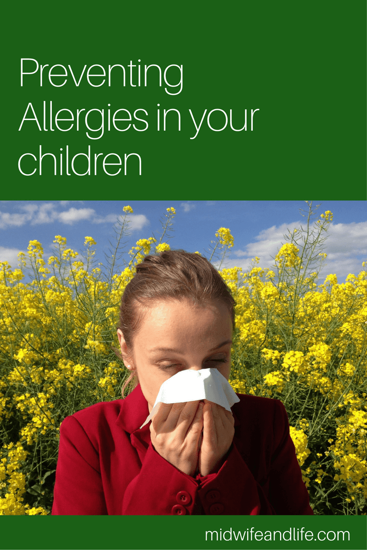 Preventing and Treating Allergies In Your Children