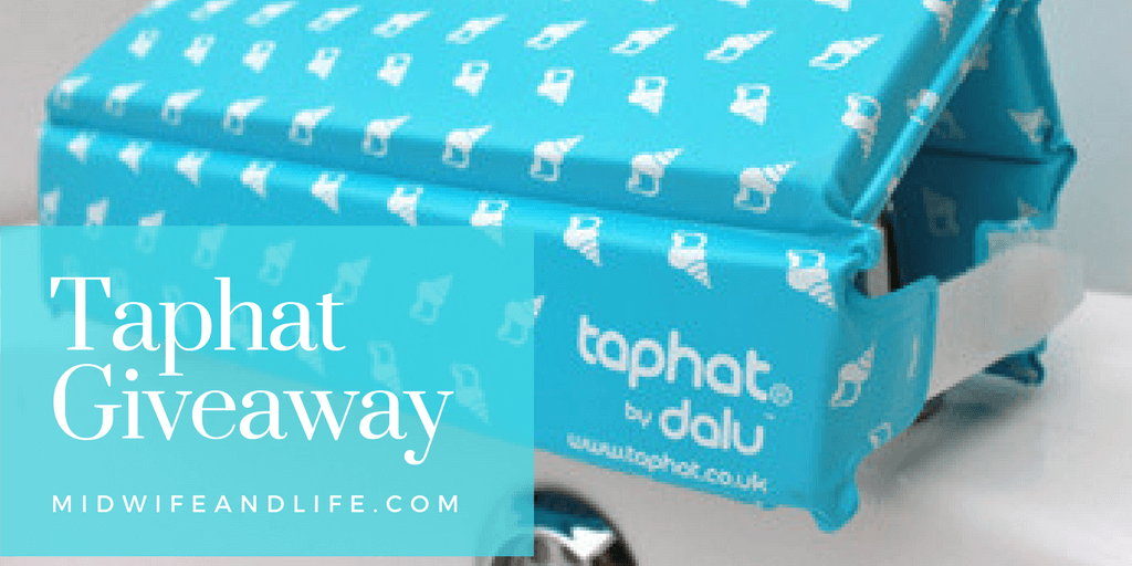 I reviewed the Taphat bath safety cushion last year and now they're offering a giveaway, I have five blue Taphats to giveaway to some lucky readers.