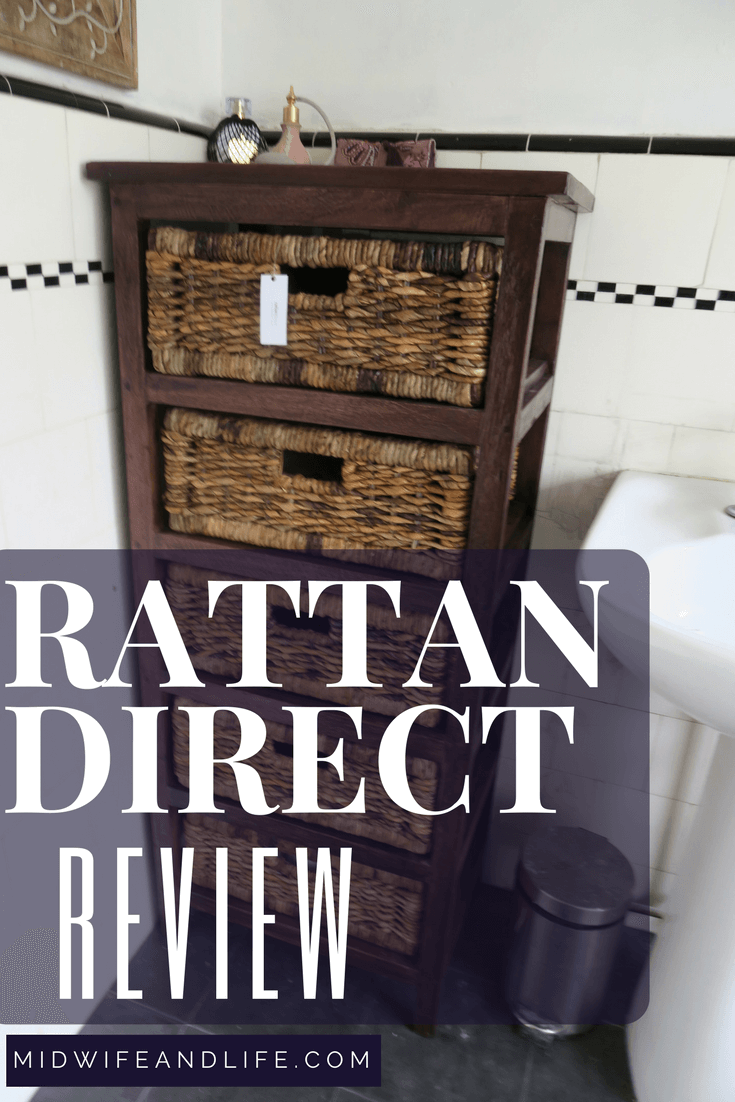 A bathroom renovation: Rattan Direct review