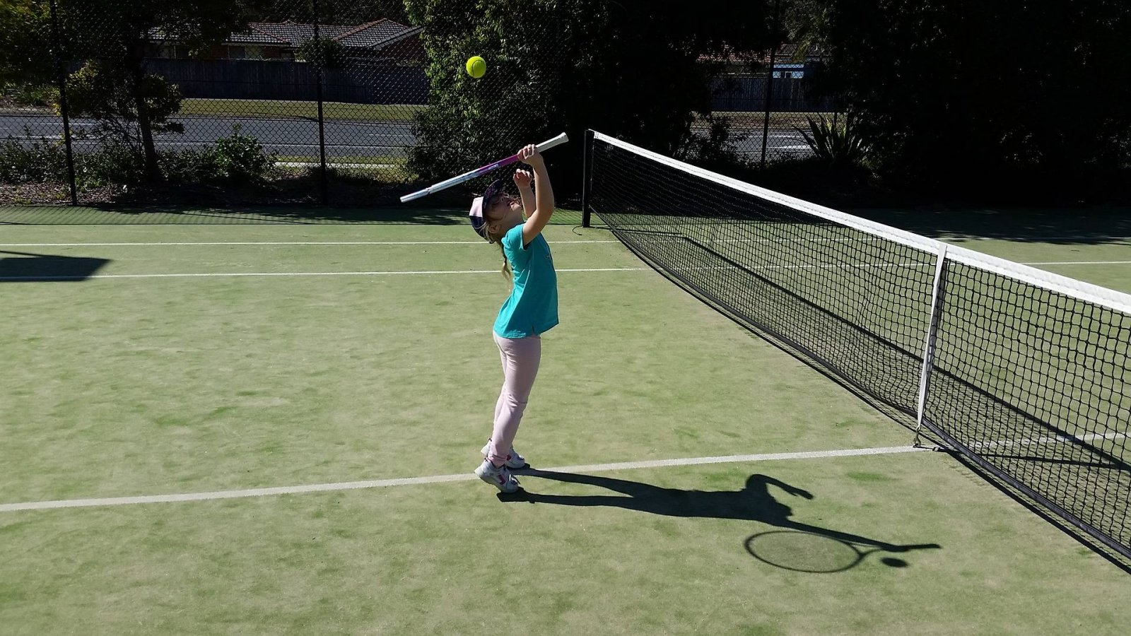 How you can get FREE Tennis lessons for your child plus a free Tennis Racket! #TennisForKids
