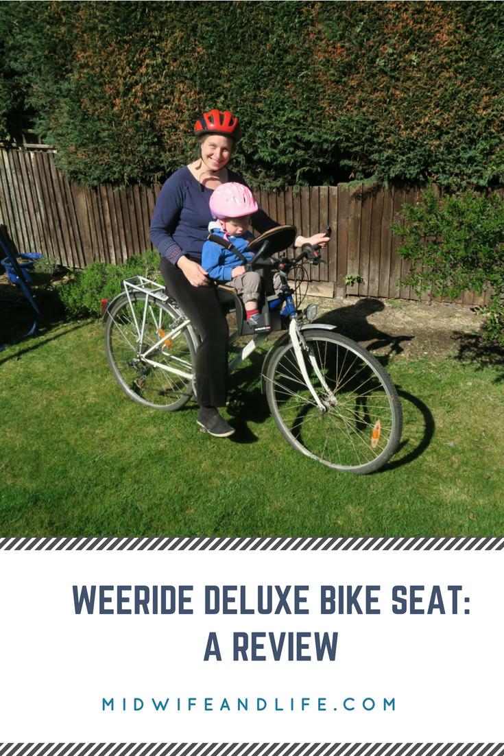 We take a look at how the weeride deluxe front facing bike seat fits together and the practicalities of it. Check out the article here