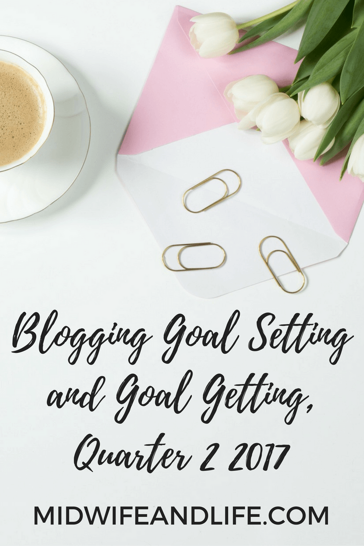 It's time to review my blog and business goals and set new ones - who's with me?!