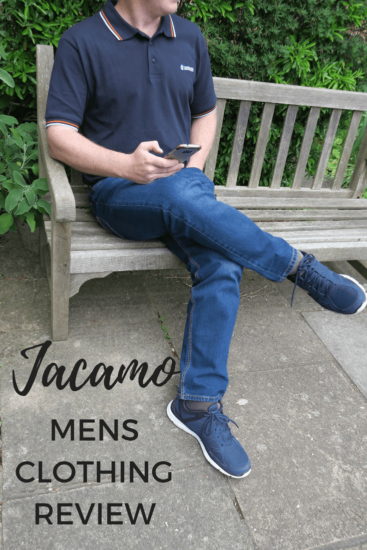 Men need a little help buying clothes every now and then, and we've been reviewing the new range of men's clothing from Jacamo