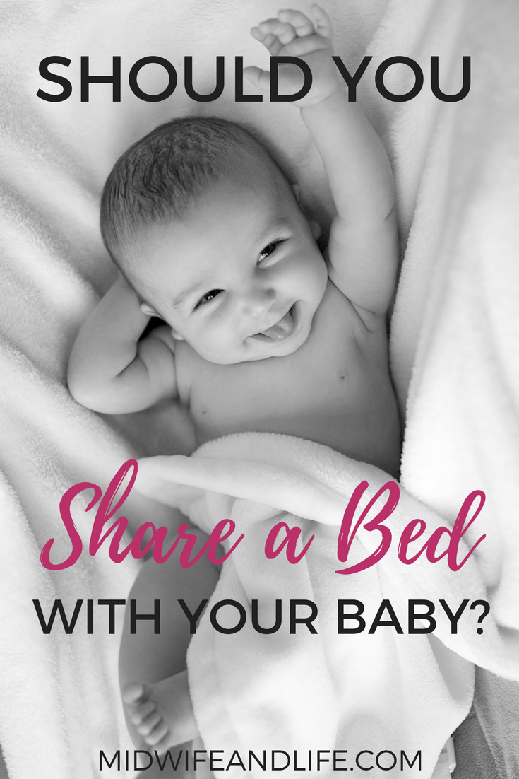 What are the arguments for and against bed sharing with your baby and what's right for you? Read up on the pros and cons here
