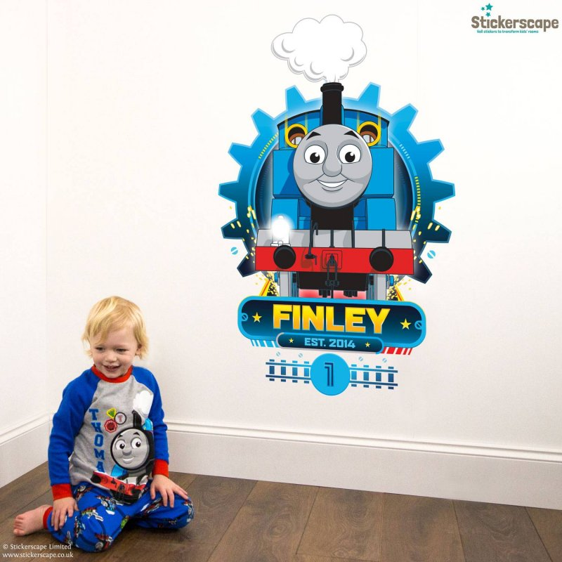 stickerscape-thomas-the-tank-engine-wall-sticker-personalised