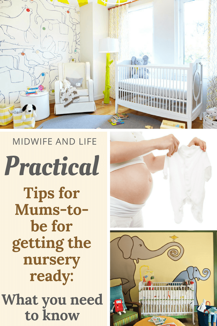It's time to start getting the nursery ready but what practical tips do you need to consider? Is it safe to use paint for the nursery when you're pregnant? What flooring is best to use in the nursery? Do I need blackout curtains or blinds in the nursery? Click through to find out