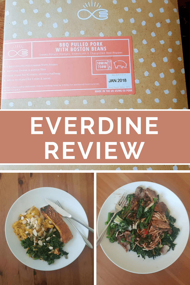Clean eating meals in minutes? Everdine review