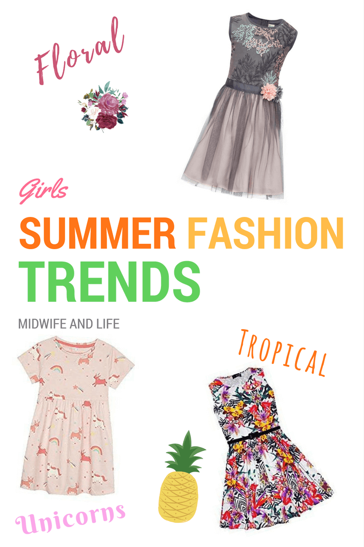 Girls Summer Fashion Trends