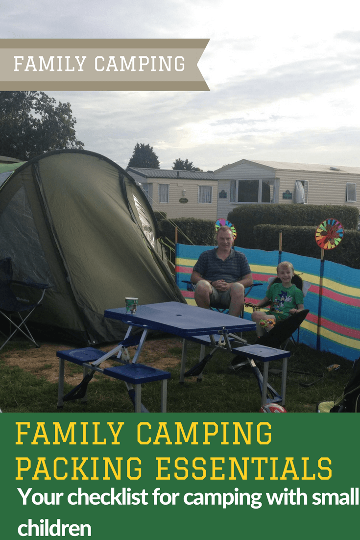 My Family Camping Packing List and Our #HomefromHome set-up with Millets