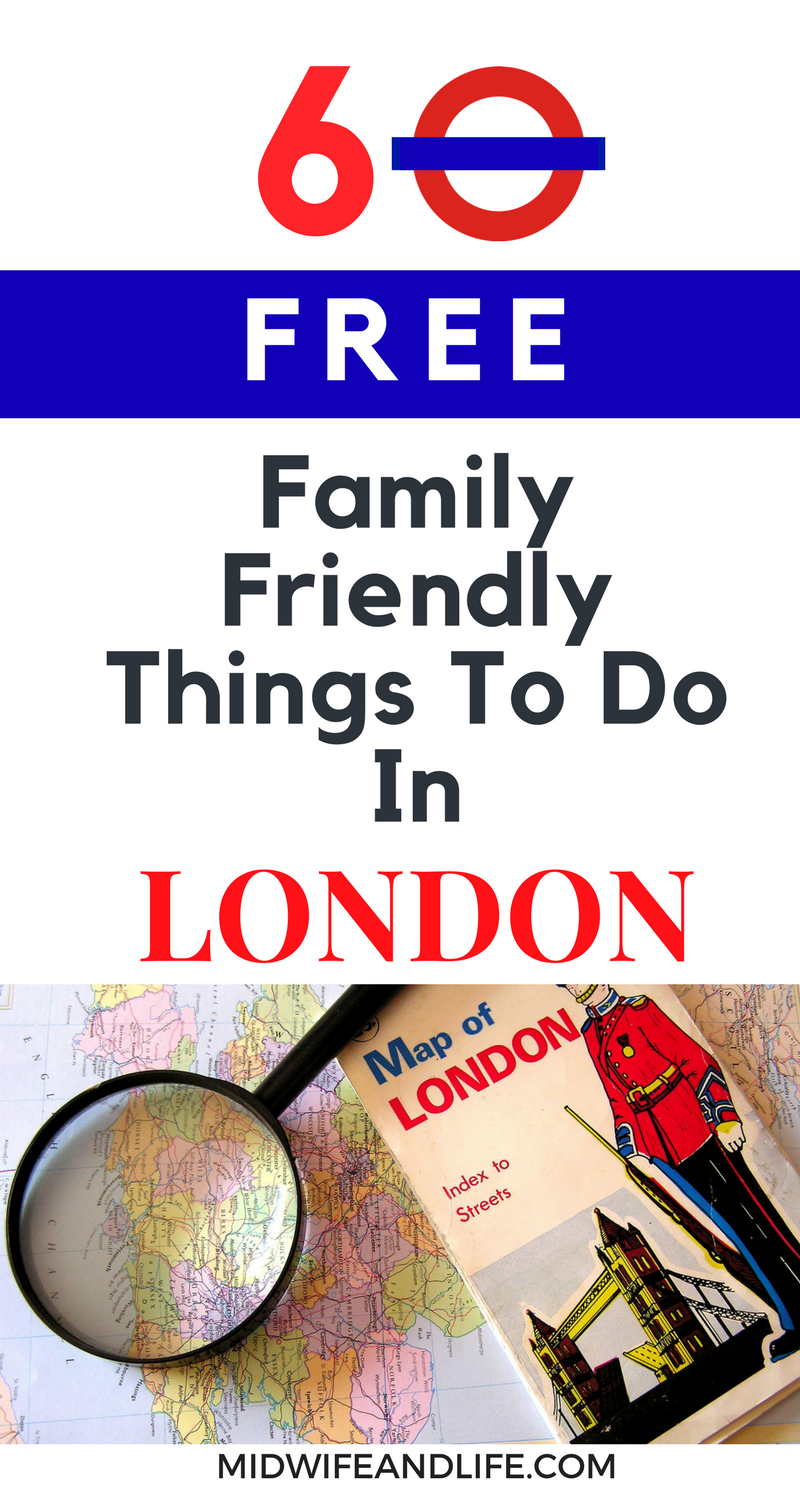 Whether it's business or pleasure, there are so many things to do in London for free with your family, here are 59 of them, can you tick them all off?