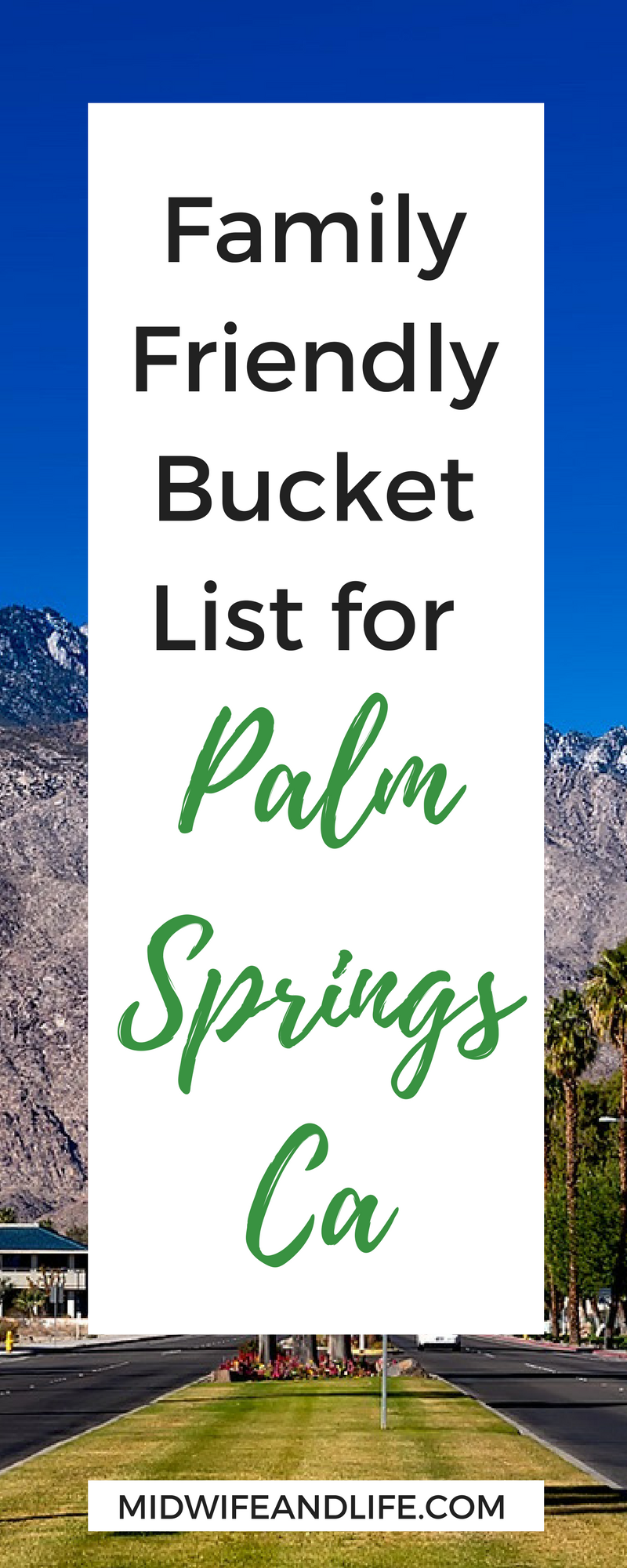 Are you looking to vacation in Palm Springs with your family? Looking for things to do? This list takes you through things to do for every member of the family plus insider tips!