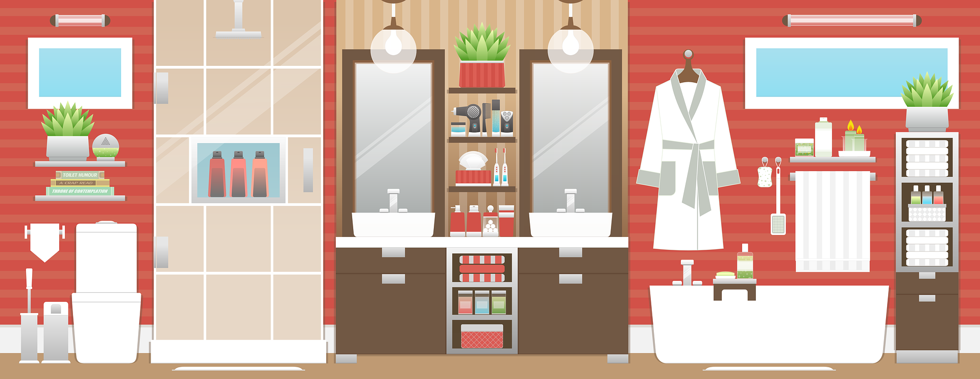 Bathroom cleaning tips and infographic