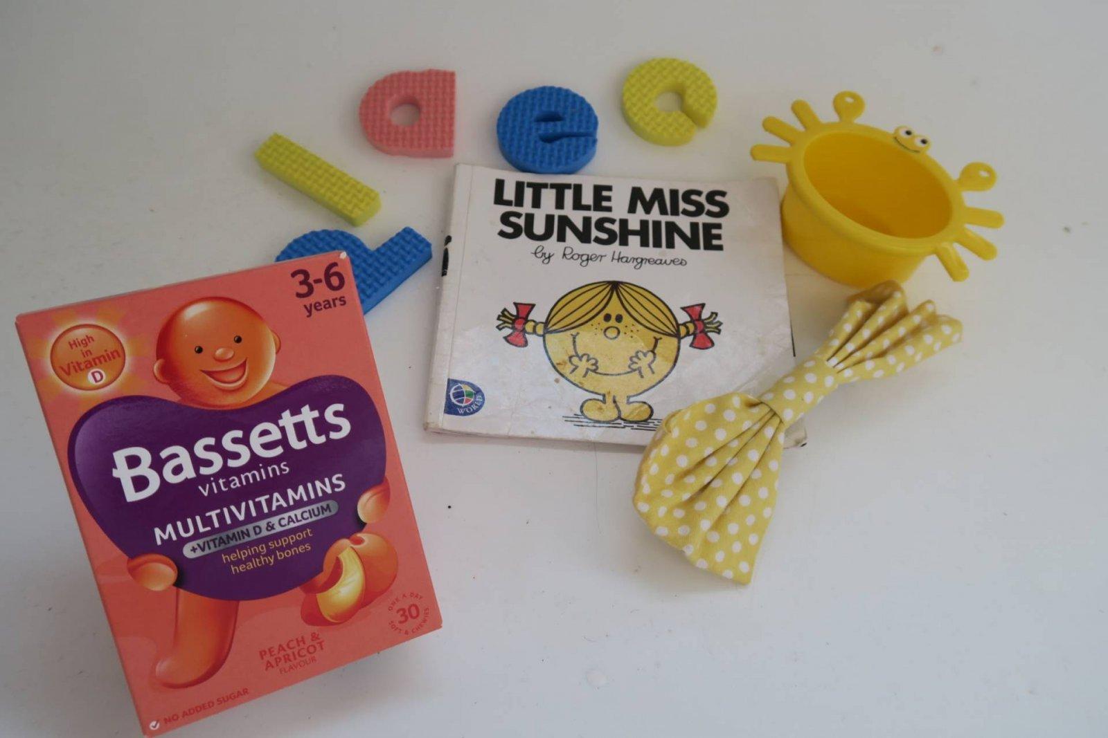 #Nodulldays with Bassetts children's vitamins