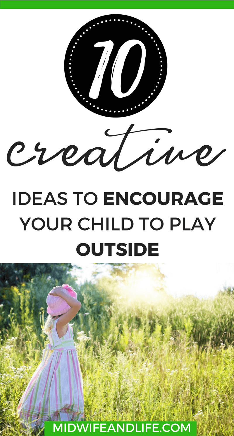 It's easy to get stuck in a rut with computers, tablets and phones entertaining our kids but there's a whole world out there ready to explore. Take a look at these ideas for creative outdoor play