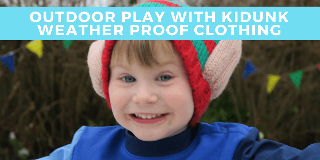 Outdoor play with Kidunk Weather Proof Clothing