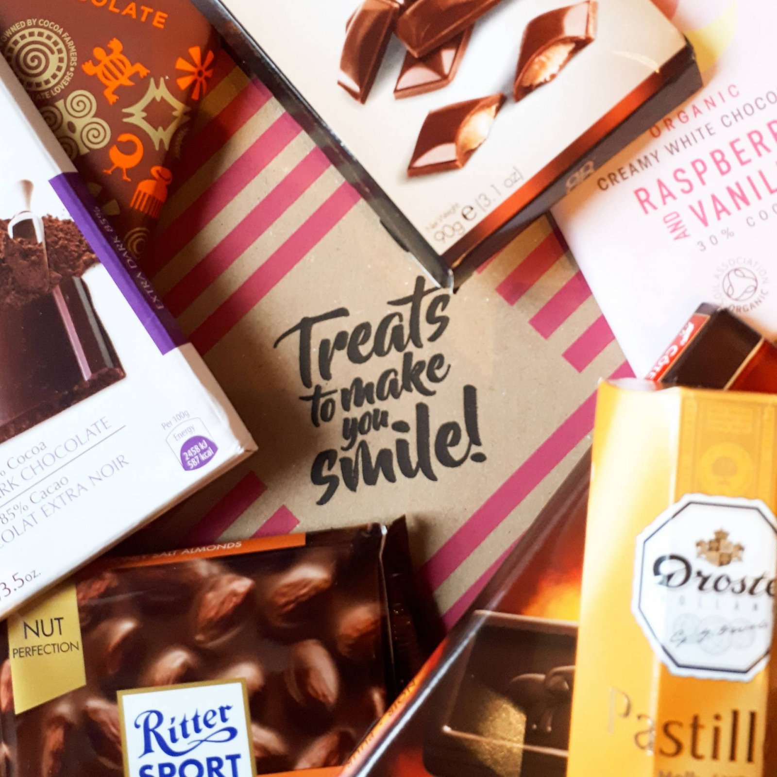 Chocolate or Sweet Treats to Make you Smile from Treatbox.com
